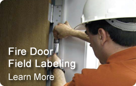 Fire Door Field Labeling